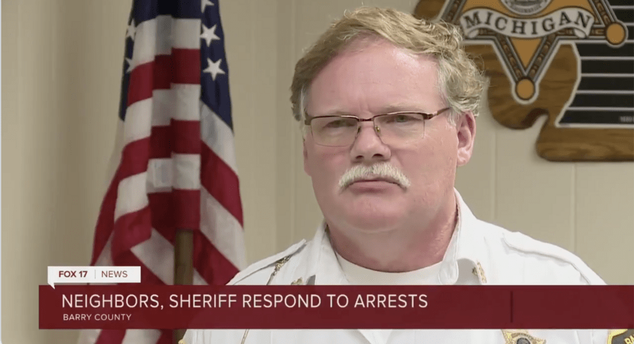 Michigan sheriff says accused terrorists were within their rights to 'arrest' Gov. Whitmer
