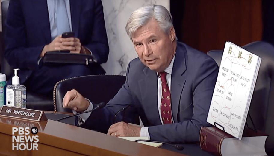 Barrett on the Supreme Court is the tip of the iceberg; Senator Sheldon Whitehouse explains why