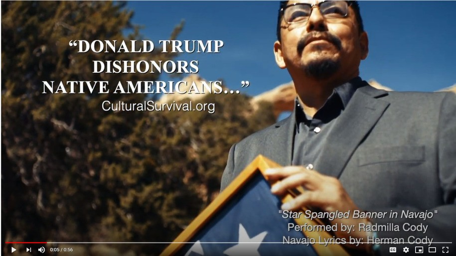 Hollywood Produces Native Voting Ads to Beat Trump in Arizona