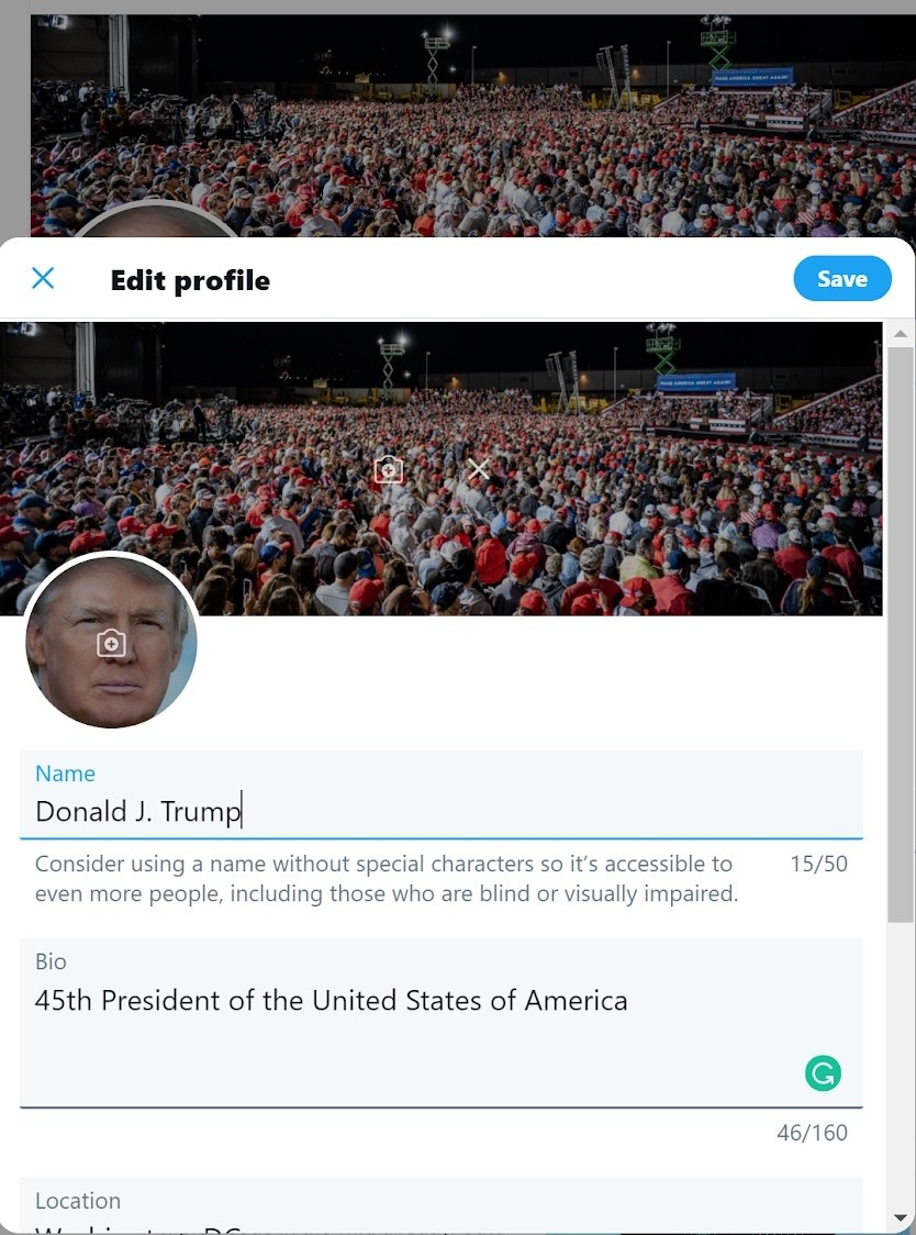 Trump's Twitter acct. was taken over, and it's even stupider than you think
