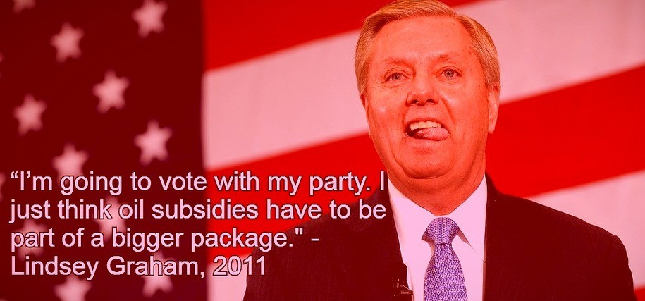 After 18 Years, Lindsey Graham Still Has No Answer for Climate Change