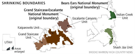 Bears Ears map