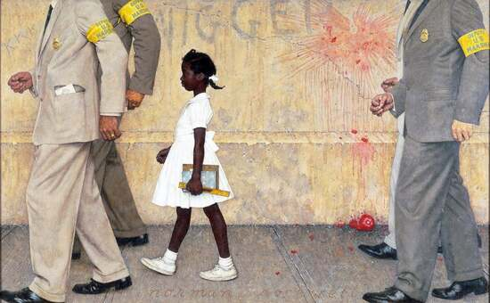 """The Problem We All Face"" by Norman Rockwell"