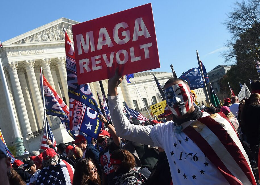 'Million MAGA March' draws thousands of extremists to D.C. claiming Trump won the election