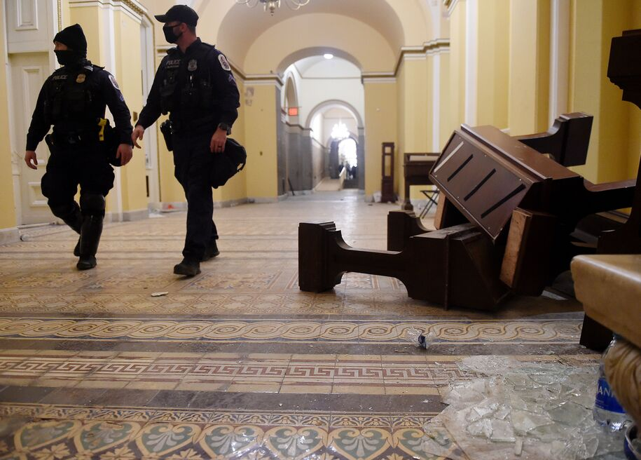 Capitol Police Finally Investigating Guided Recon Tours Given By GQP Lawmakers Prior To Insurrection