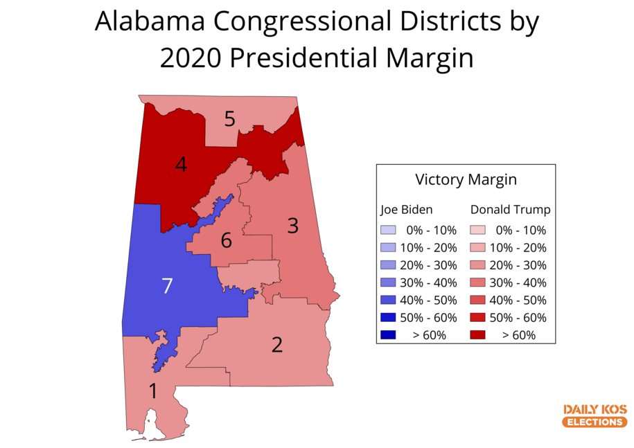This Alabama district just claimed the undisputed crown as Trumpiest in the nation