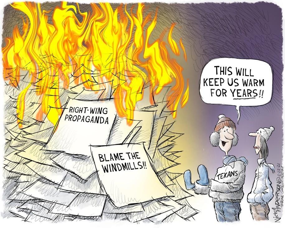 Cartoon: Bonfire of the Vanities