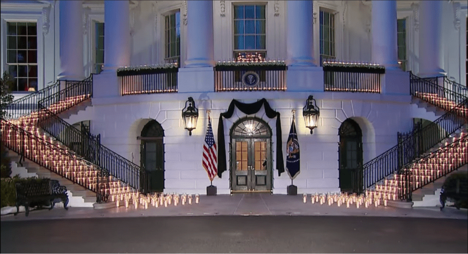 Monday Night Owls: President Biden mourns the half million Americans dead of COVID-19