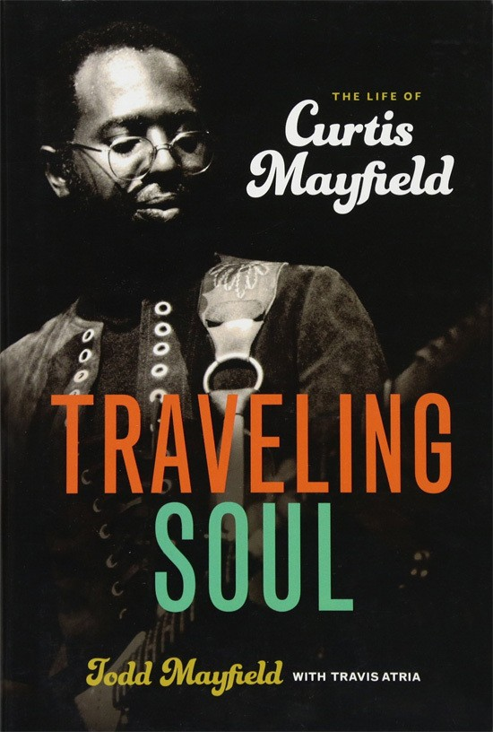 Bookcover. Biography of Curtis Mayfield