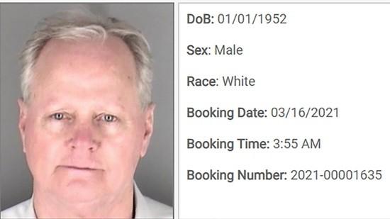 Gene Sullentrop arrest report on DUI charges