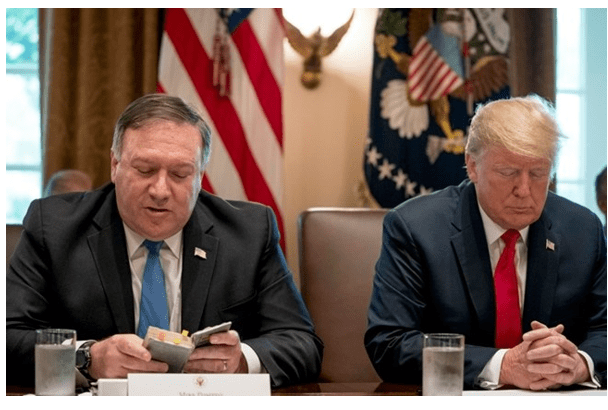 """""""Christ has called me"""" Former Sec. of State Pompeo Suspends 2024 Presidential Bid Activities"""