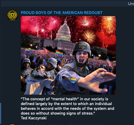 Meme from American Redoubt Proud Boys
