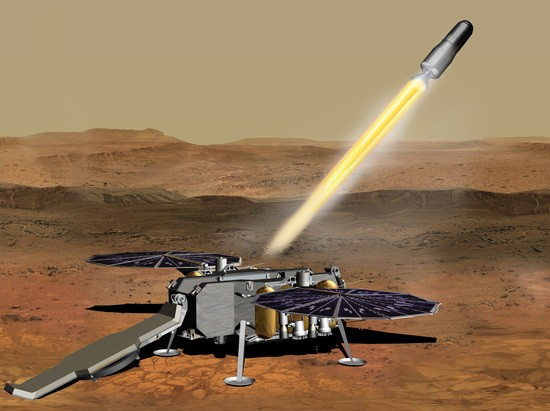 Concept art for NASA