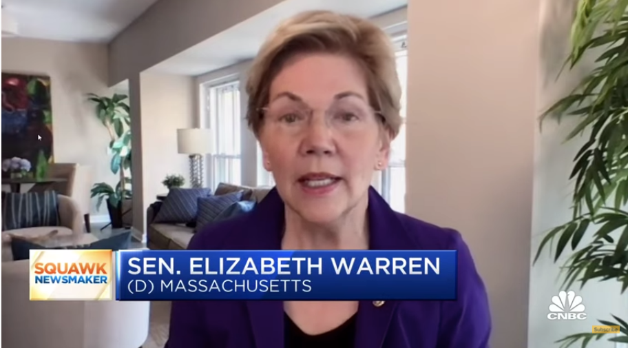 Billionaire says he's giving Warren a question that will 'surprise' her. Her reaction is priceless
