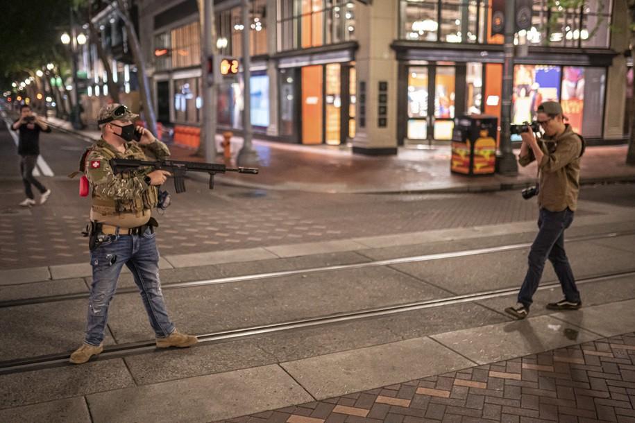Proud Boys Follows Their New Script Using Portland Anti-Mask Rallies To Increase Violence