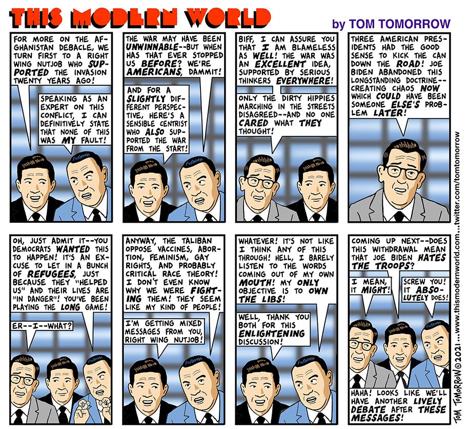 News anchor says,