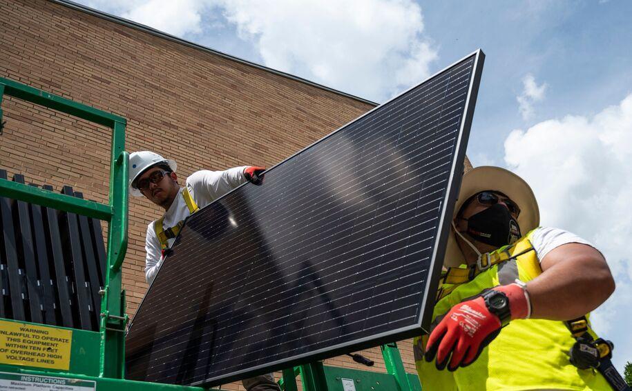 Biden's energy plan includes increasing solar power 10x by 2035