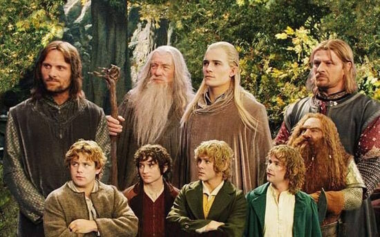 The Fellowship in Rivendell.