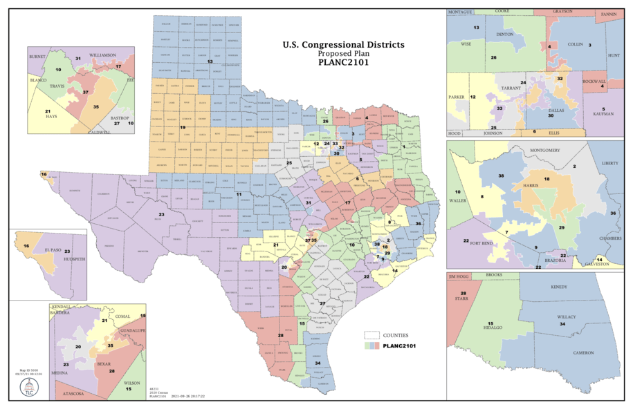 Morning Digest: Texas GOP proposes House gerrymander to shield itself against a fast-changing state